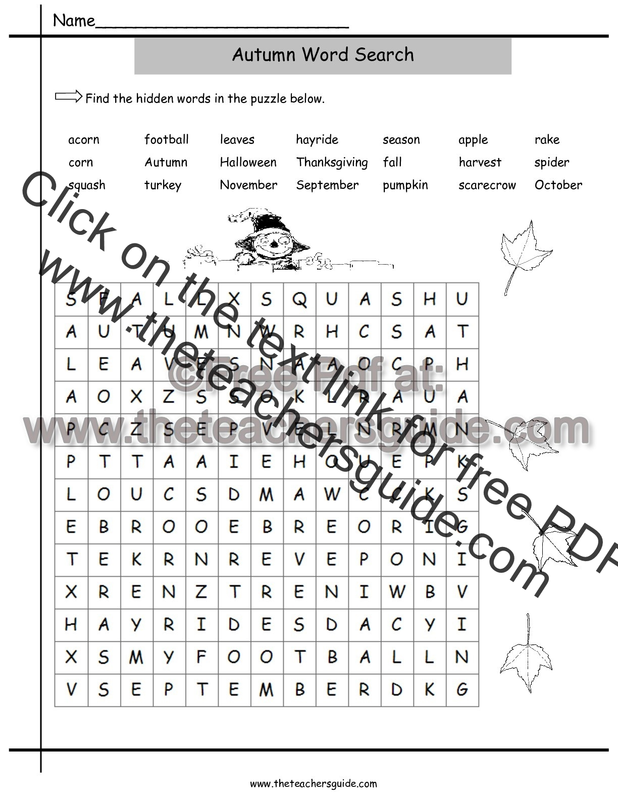 Uncategorized Fall Worksheets For First Grade fall lesson plans printouts themes crafts and clipart autumn wordsearch