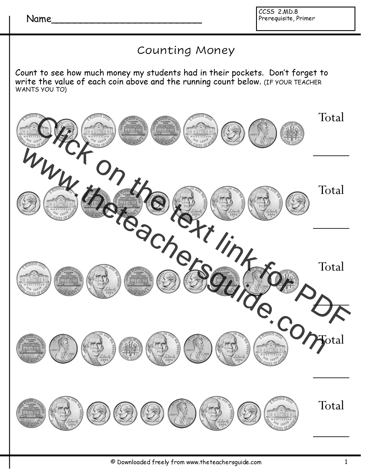 Worksheets Coin Values Worksheet counting coins worksheets from the teachers guide worksheet