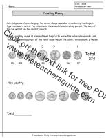 counting coins practice worksheet
