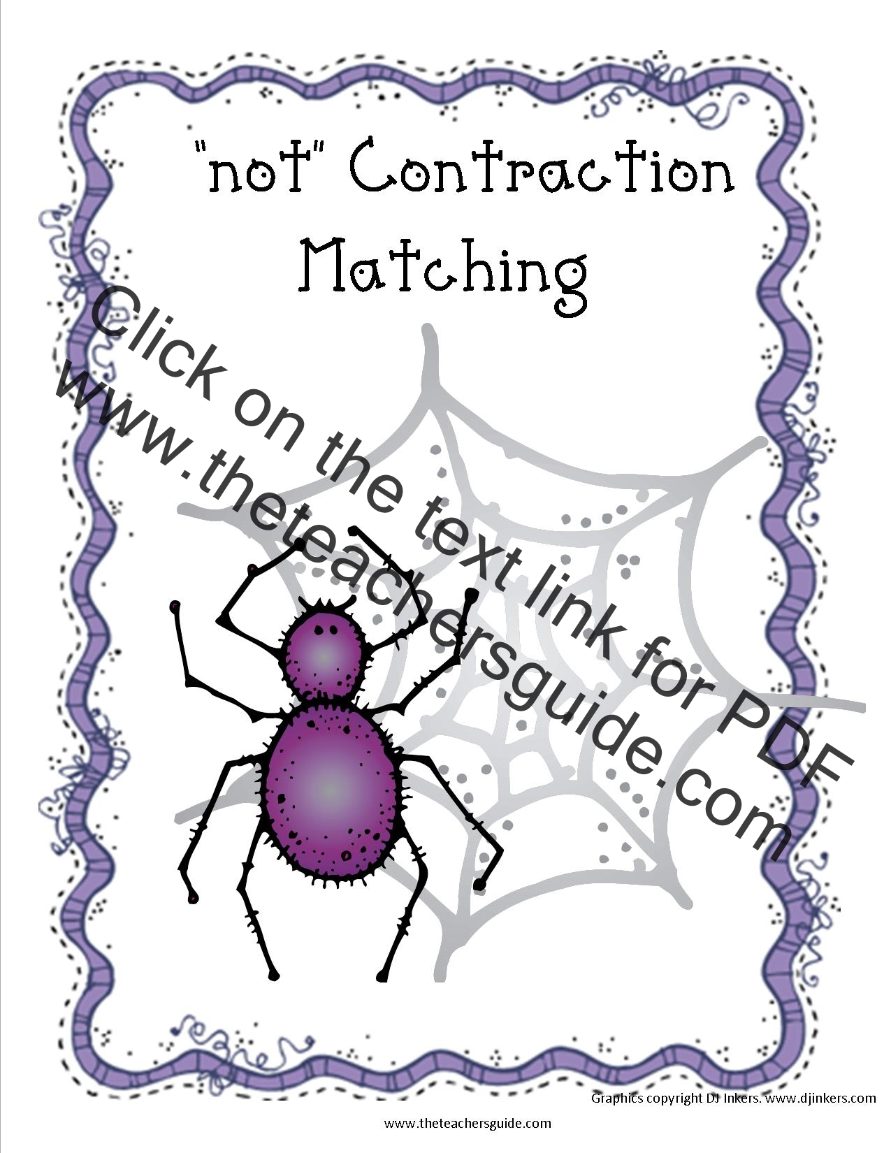 Contractions Worksheets from The Teachers Guide – Contraction Worksheets