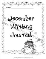 december writing journa
