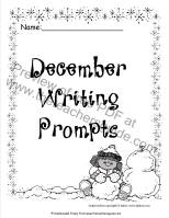 dcember writing prompts