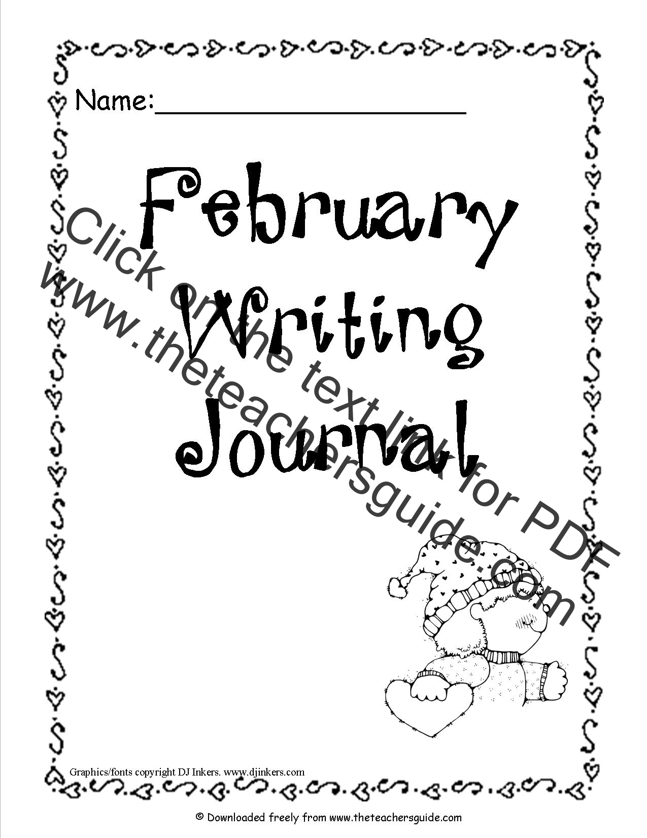 February Lesson Plans, Printouts, Themes, Crafts and Holidays