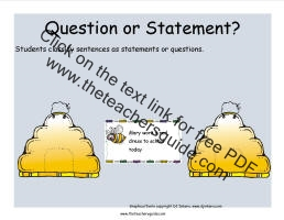 questions or statements game