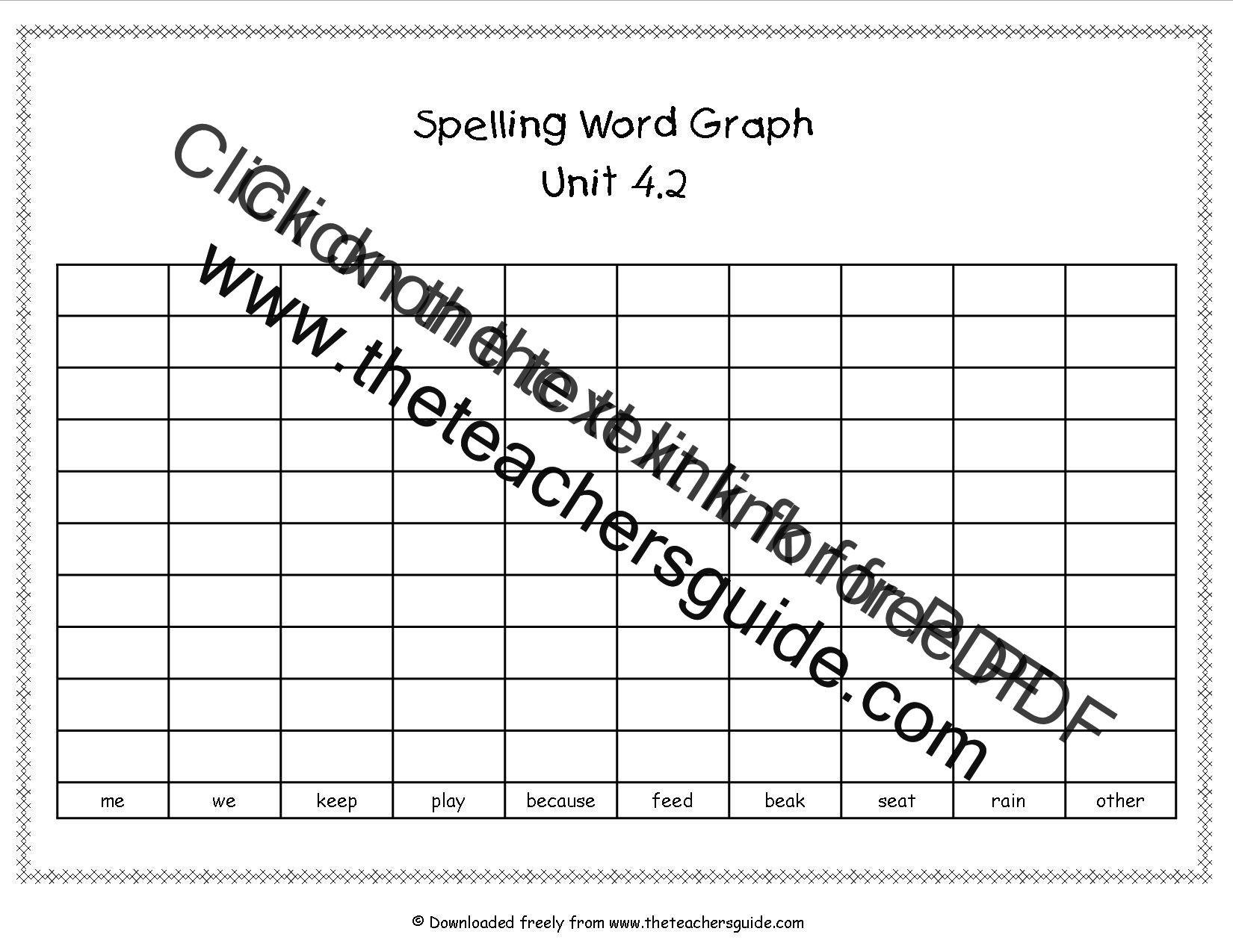 Wonders First Grade Unit Four Week Two Printouts – Word Sort Templates