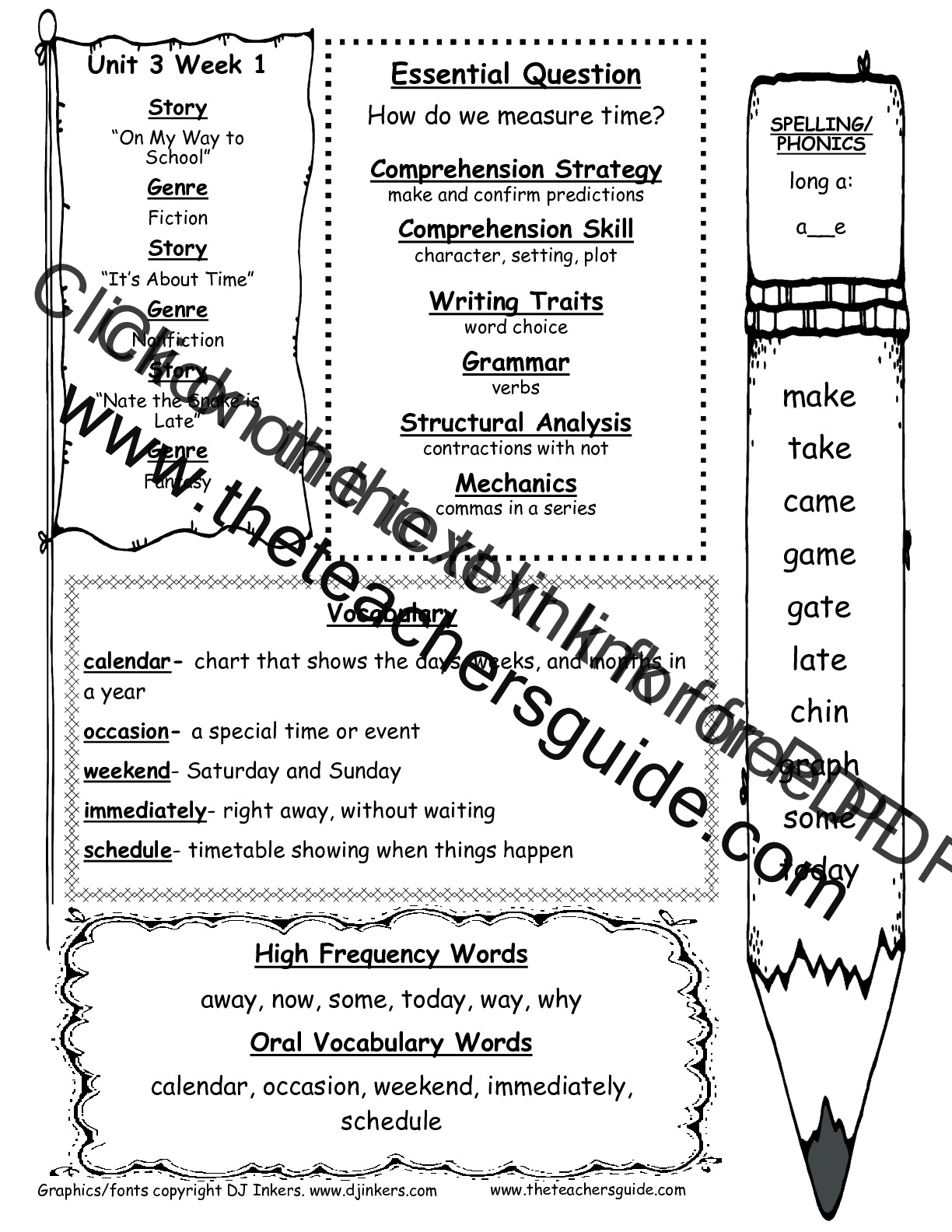 Worksheet Reading For First Grade mcgraw hill wonders first grade resources and printouts unit three week one weekly outline