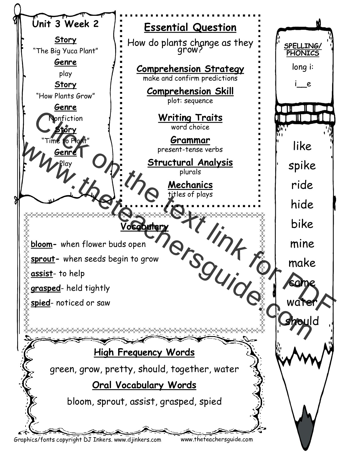 Printables Spelling And Vocabulary Worksheets mcgraw hill wonders first grade resources and printouts unit 3 week 2 weekly outline