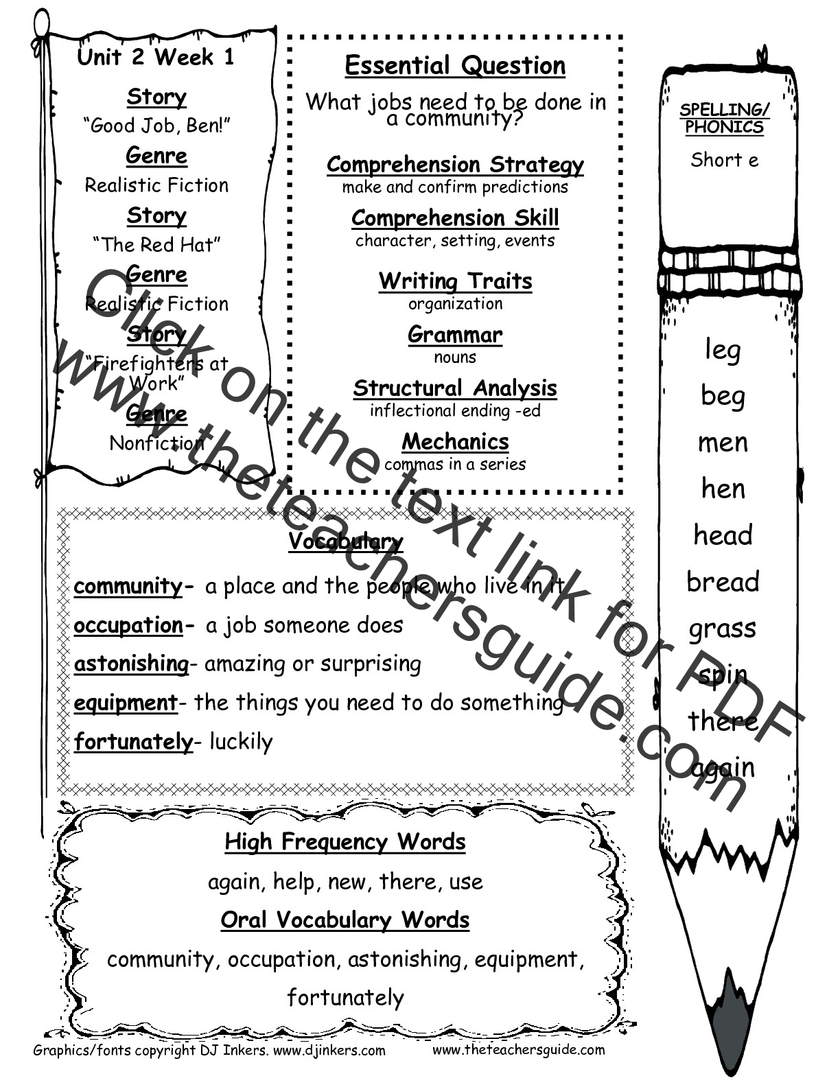 worksheet 1st Grade Ela Worksheets mcgraw hill wonders first grade resources and printouts 1st printouts