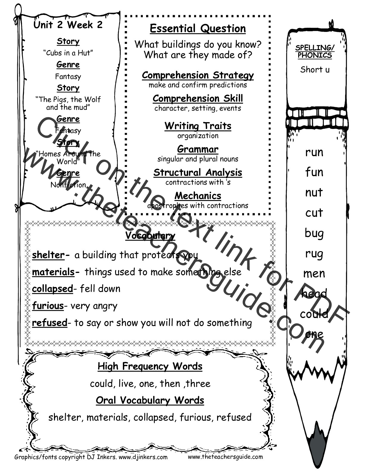 worksheet Reading Comprehension Worksheets 1st Grade mcgraw hill wonders first grade resources and printouts unit 2 two week two