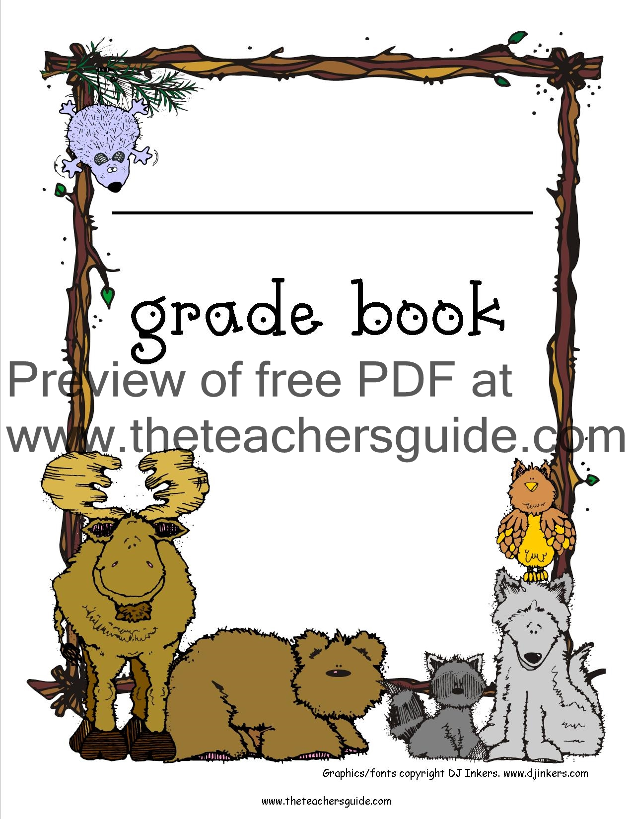 Gradebook Clip Art Of