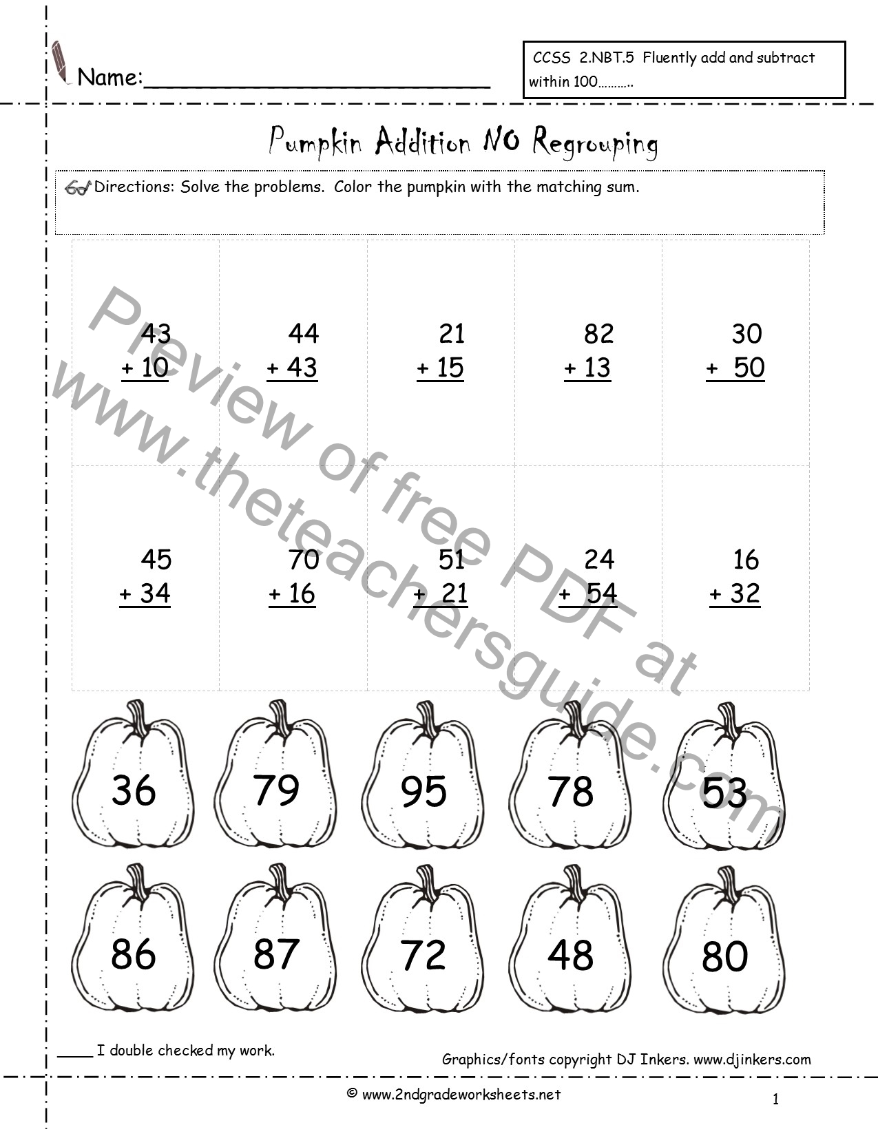 worksheet Adding With Regrouping addition with no regrouping lessons tes teach halloween printouts from the teacher39