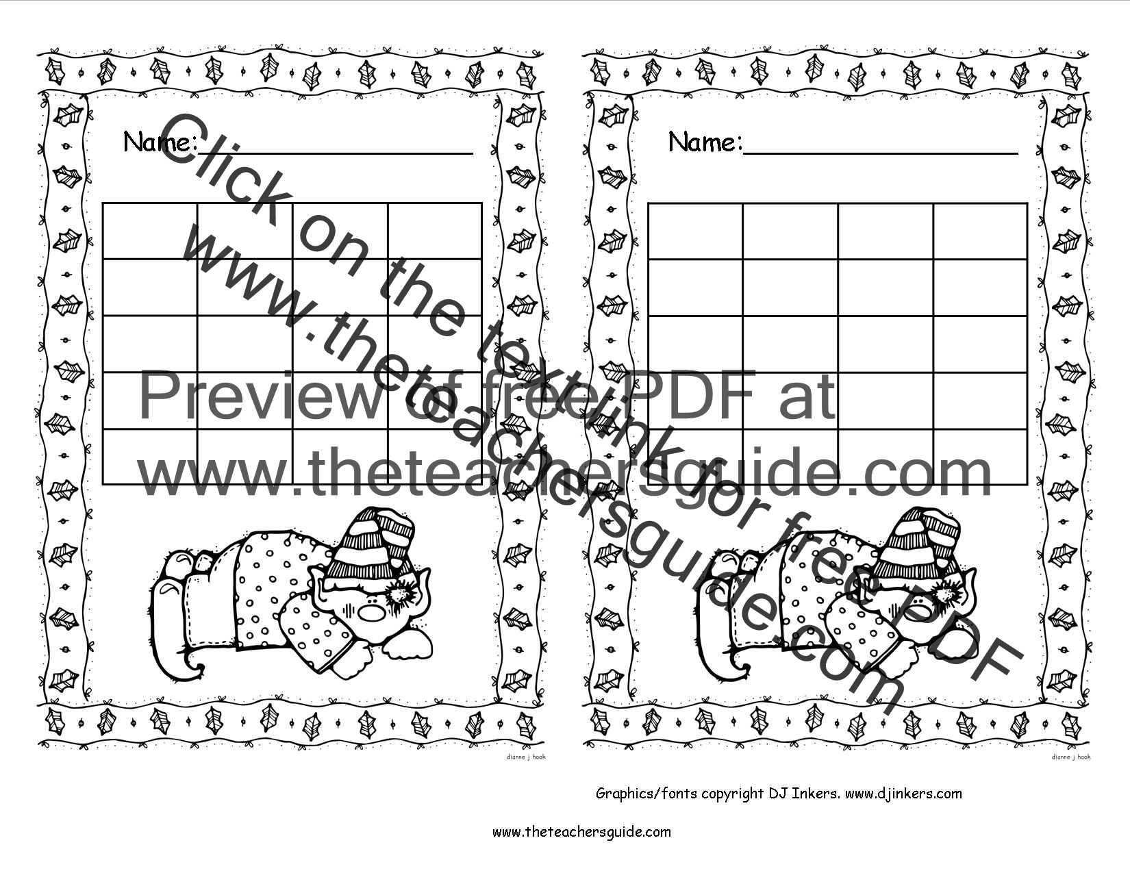 Homework reward chart – Sample Star Chart Template
