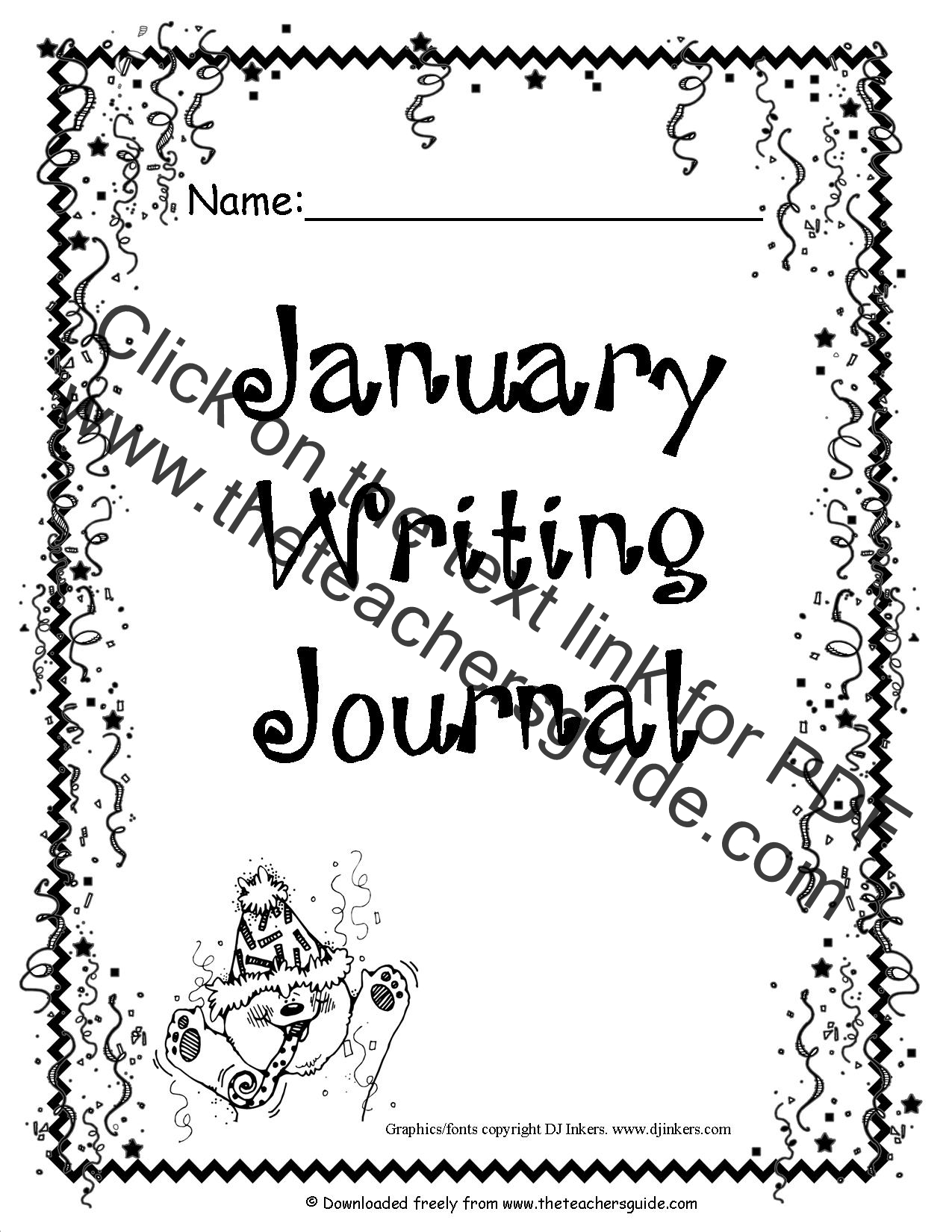 writing a journal entry lesson plan