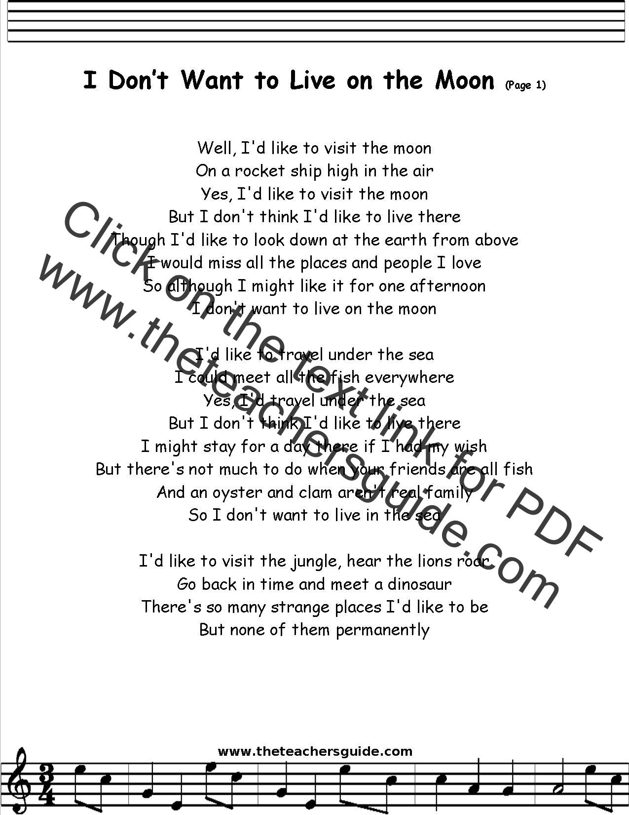 i want back lyrics