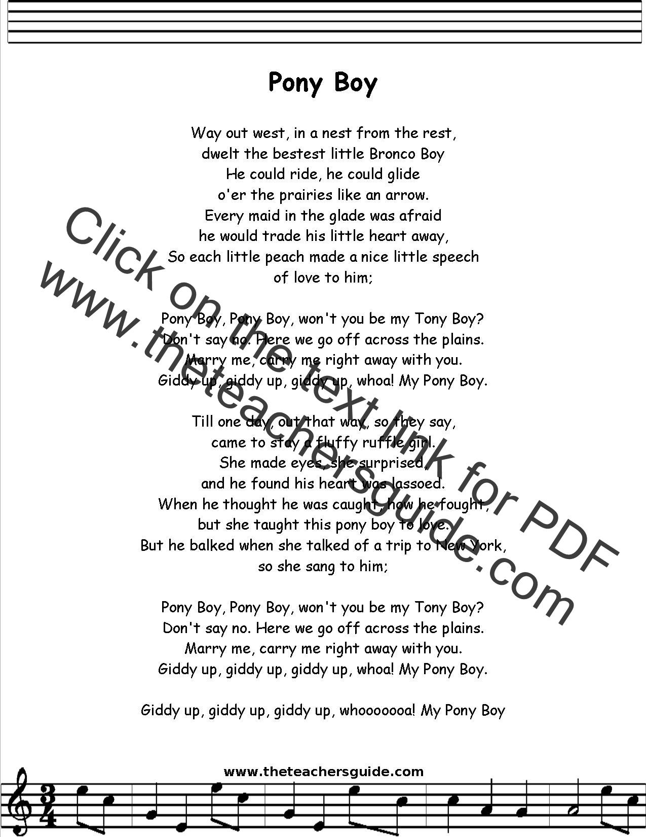 William Singe - Pony Lyrics - YouTube