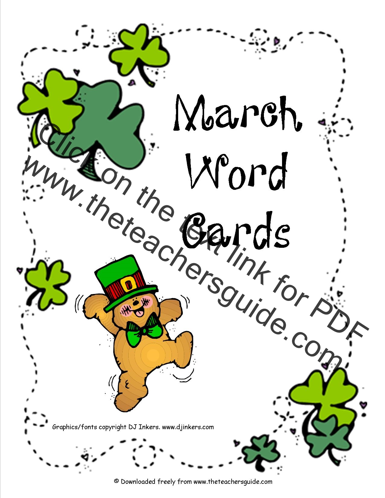 Free Printable Picture Dictionaries and Sight Words