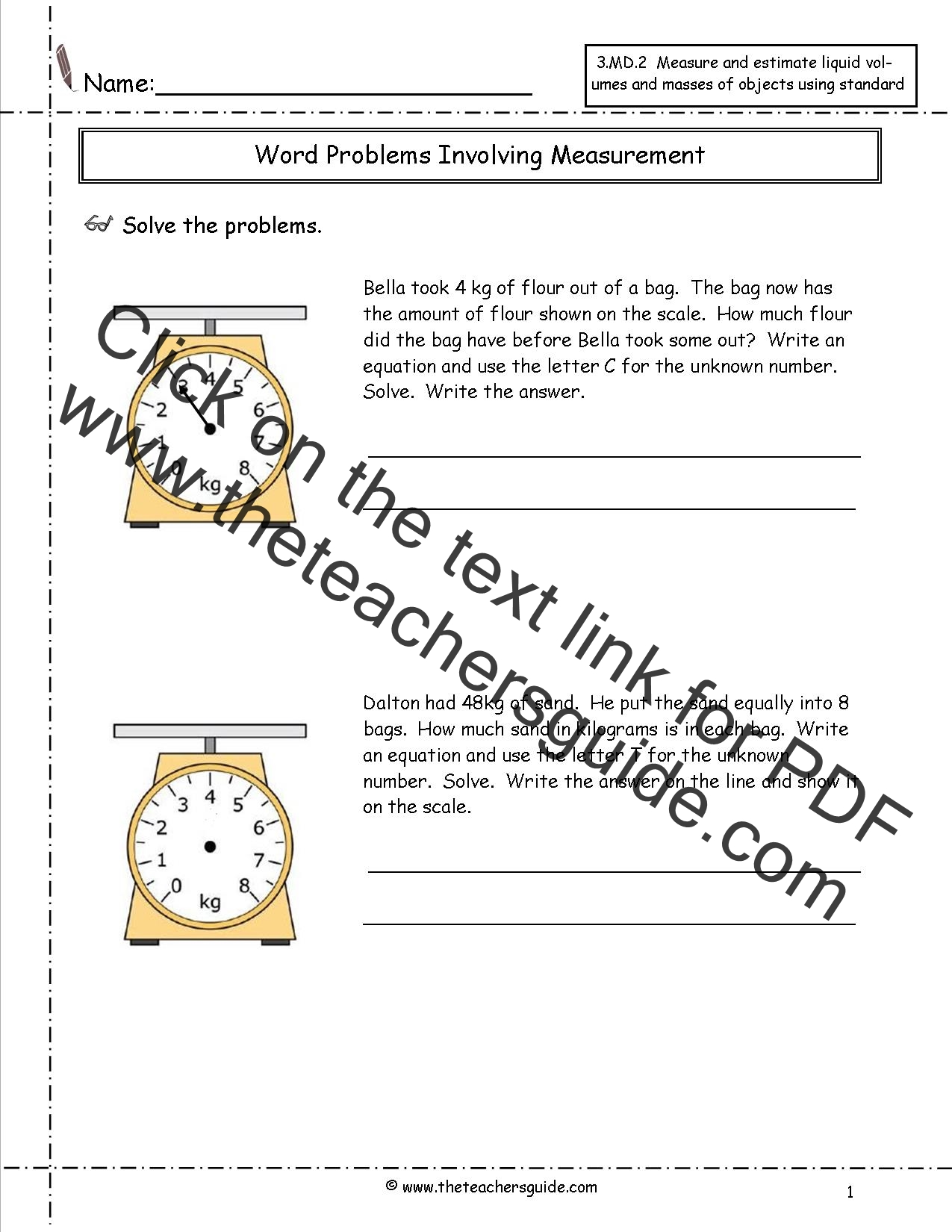 Worksheet Time Problems For Grade 2 telling time worksheets from the teachers guide md 2 measurements with kilograms 2