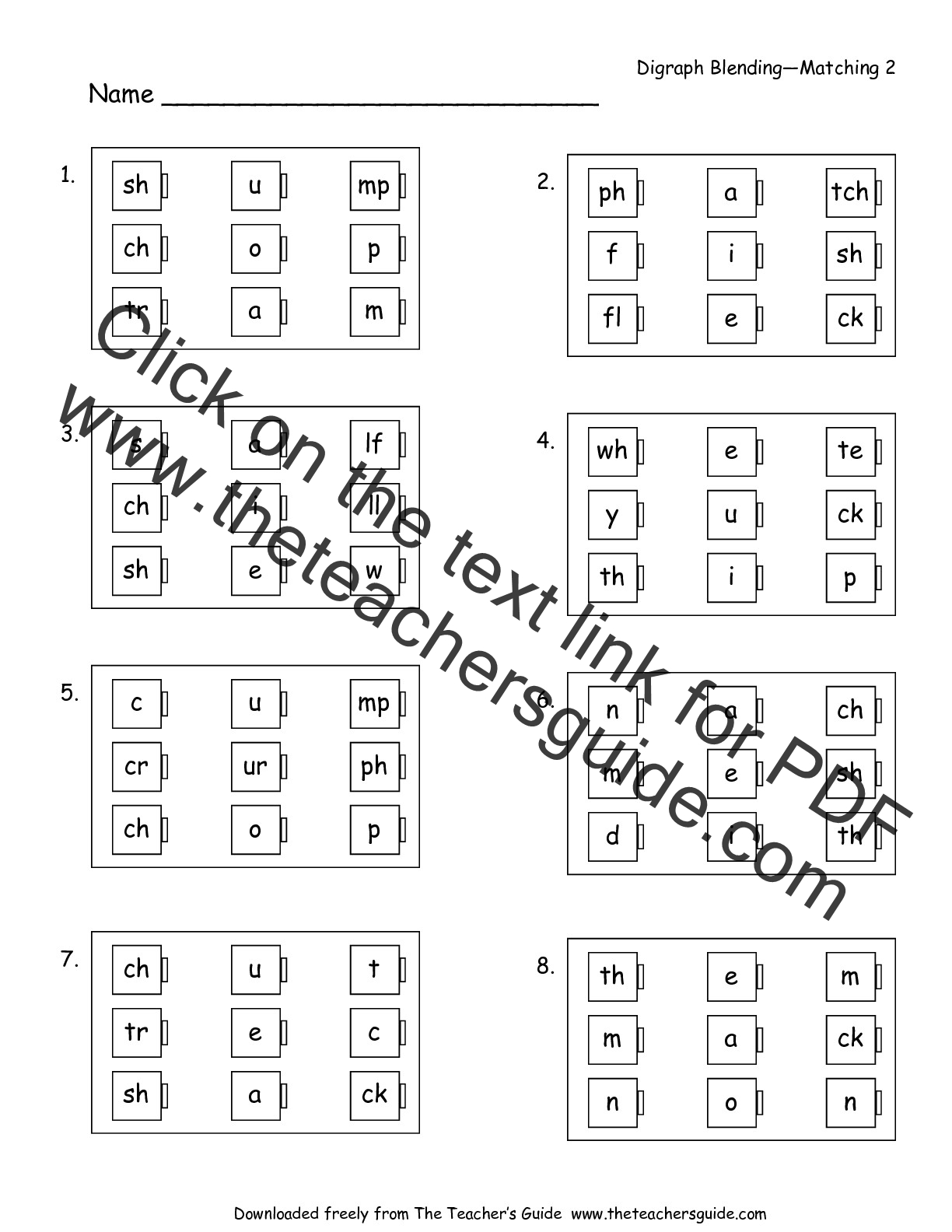 worksheet Short Vowels Worksheets free phonics printouts from the teachers guide worksheet