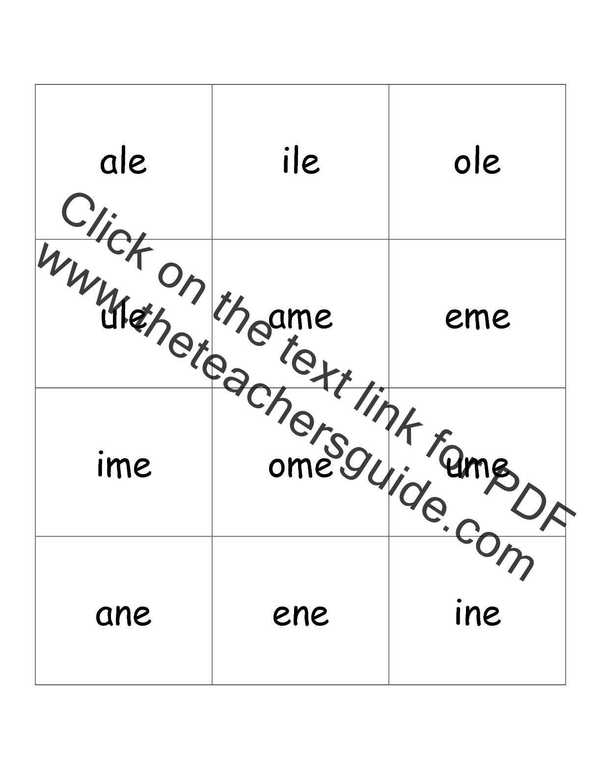 worksheet Long Vowel Worksheets free phonics printouts from the teachers guide phoncis flashcards long vowel letters two