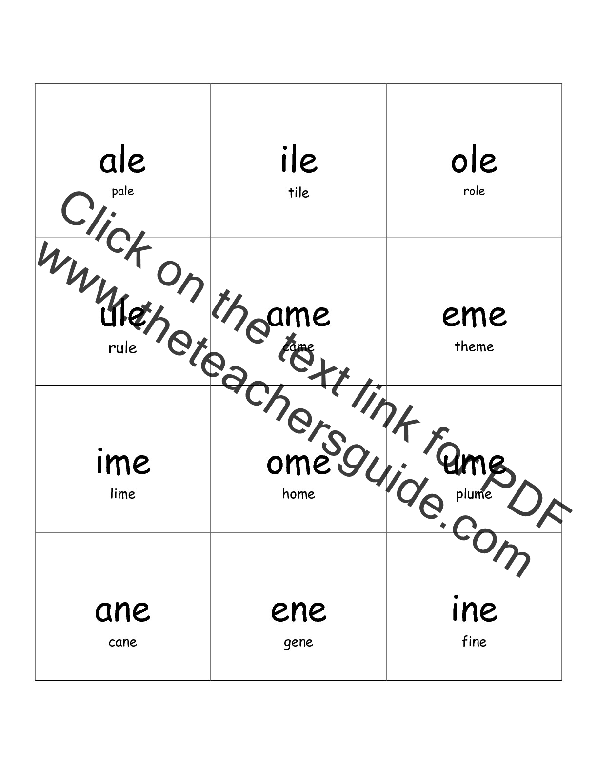 worksheet Long E Worksheet free phonics printouts from the teachers guide worksheet