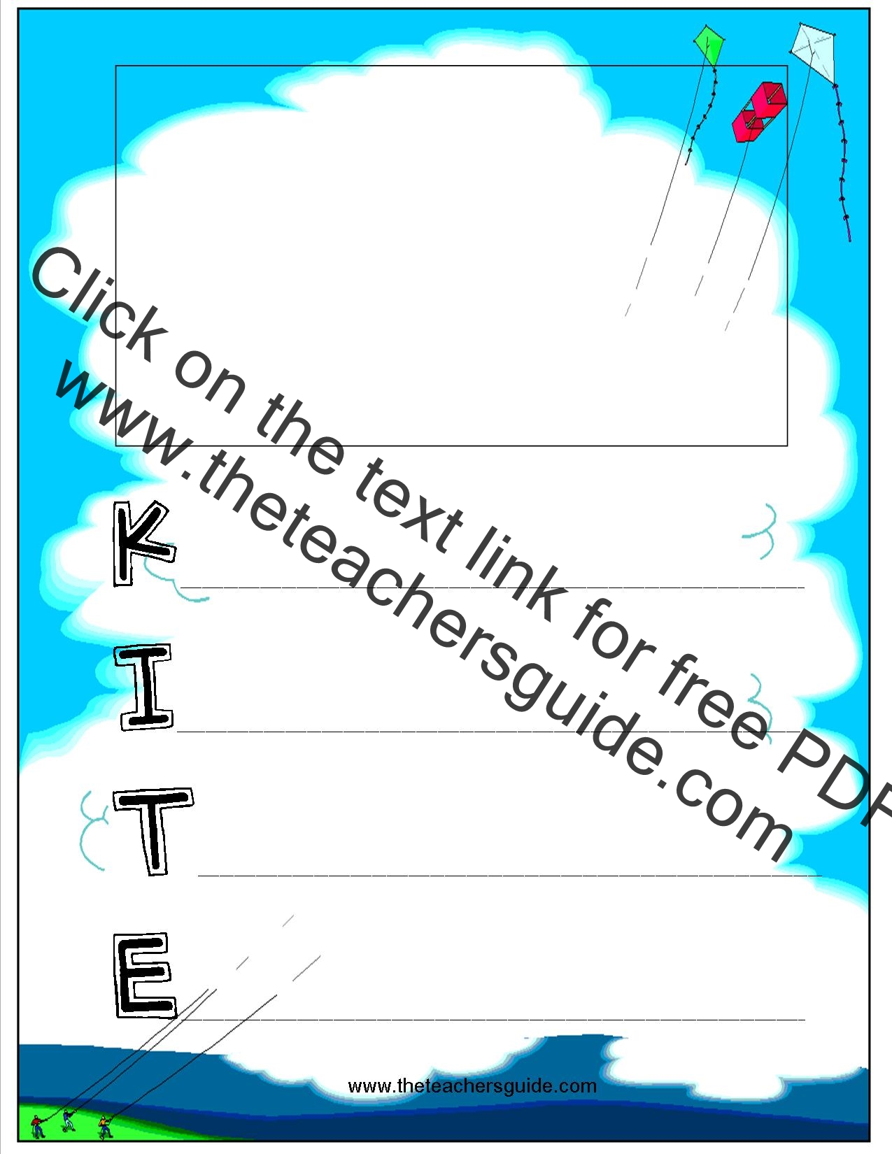 Acrostic Poems Worksheets from The Teacher's Guide