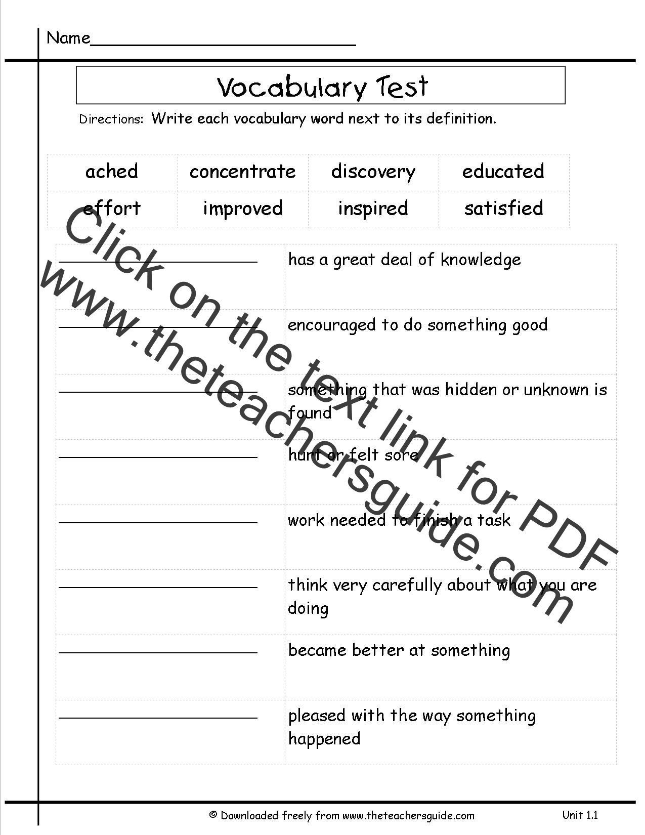 Third Graders Worksheets : Wonders third grade unit one week printouts