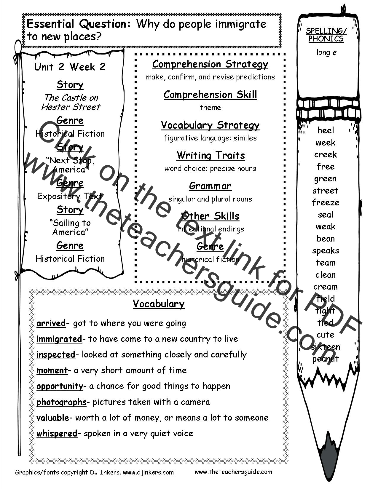 *READING AND SPELLING WEEKLY OUTLINES* (Vocabulary and ...
