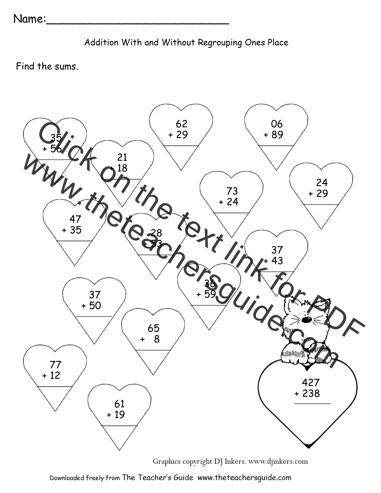 Teaching Regrouping Addition Lawteched – Three Digit Addition with Regrouping Worksheets 2nd Grade