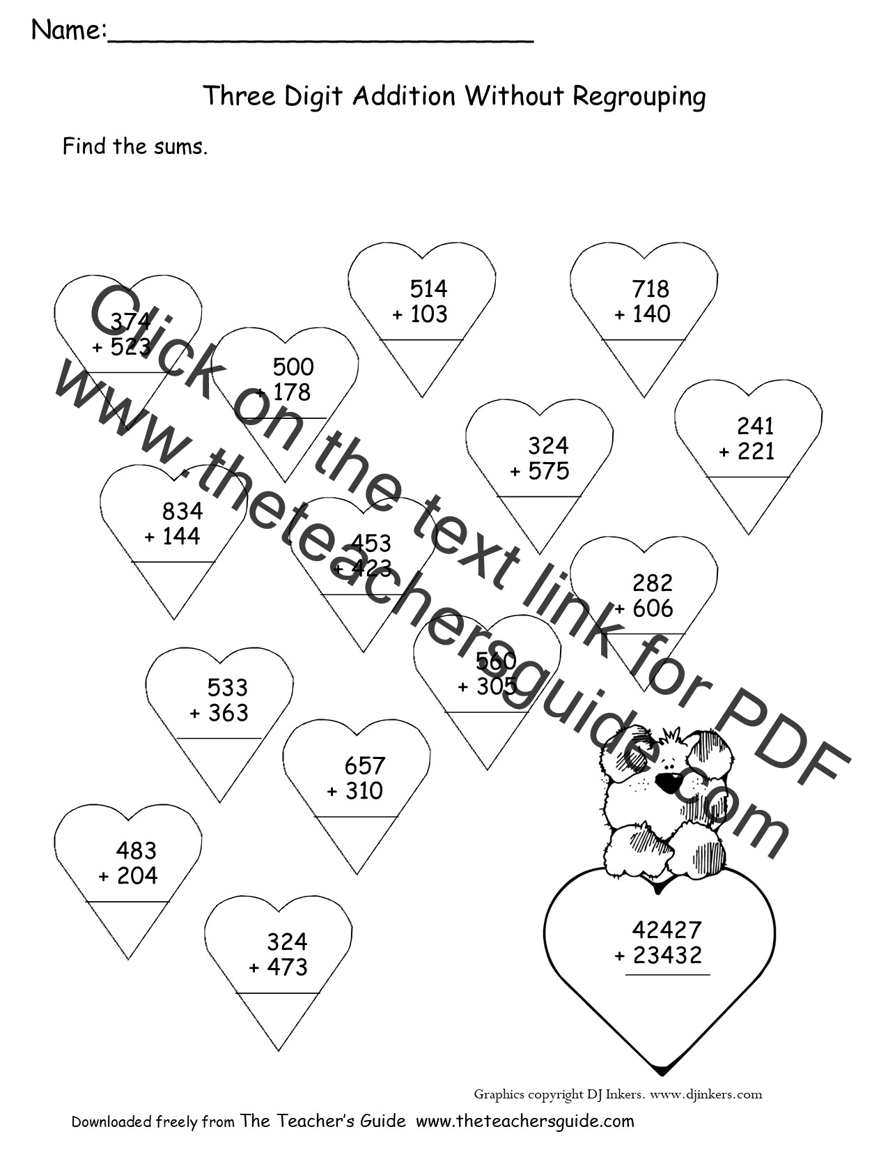 math worksheet : worksheets on subtraction without regrouping  ged  : Two Digit Addition And Subtraction Worksheets
