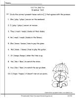 wonders second grade unit five week five printout grammar test