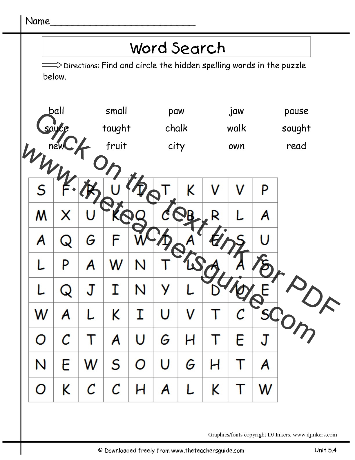 graphic regarding 2nd Grade Word Search Printable known as Miracles Minute Quality Device 5 7 days 4 Printouts