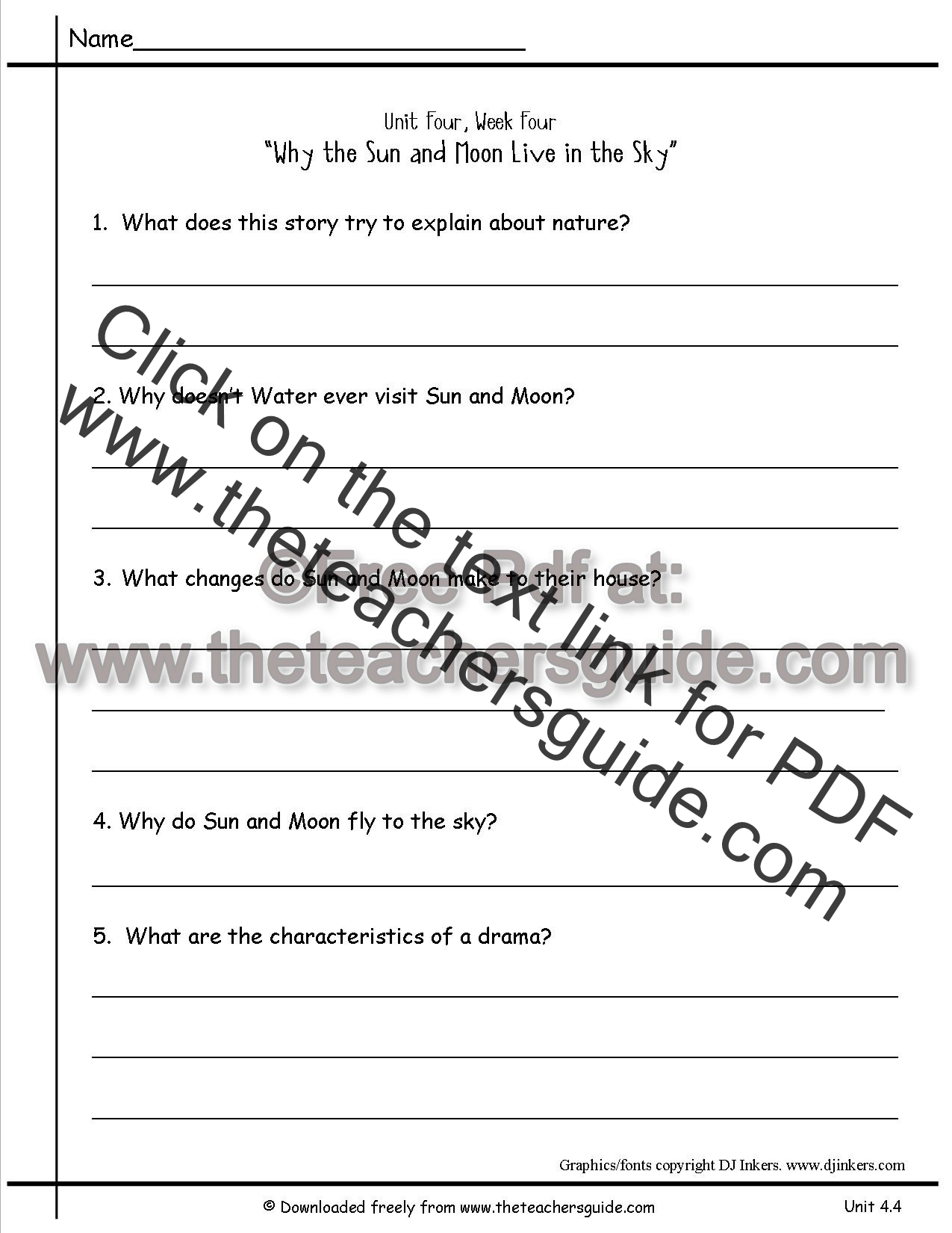 Free Worksheets letter matching worksheets : Wonders Second Grade Unit Four Week Four Printouts