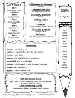 wonders unit four week three printout weekly outline
