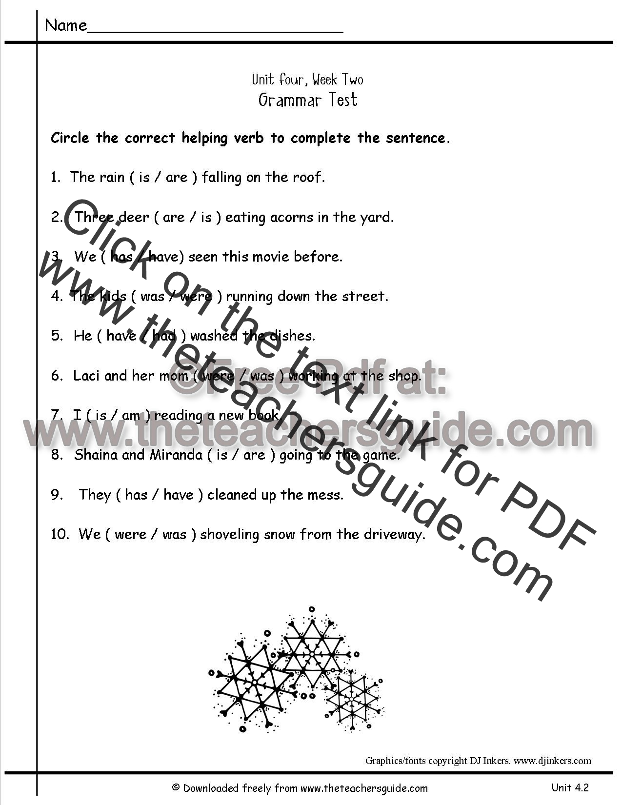 Main And Linking Verb Worksheets Pictures to Pin on Pinterest ...