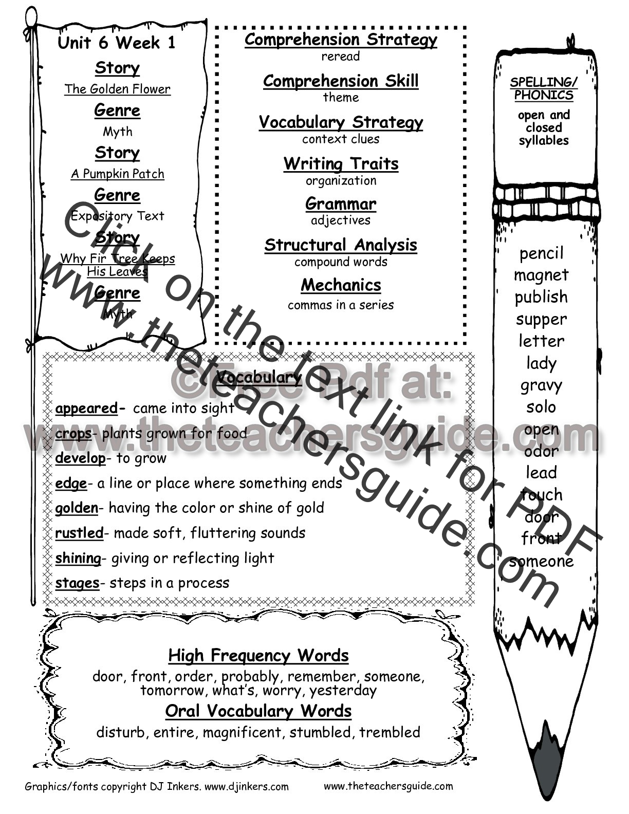 Mcgraw hill wonders second grade resources and printouts second grade wonders unit six week one printouts weekly outline ibookread Download
