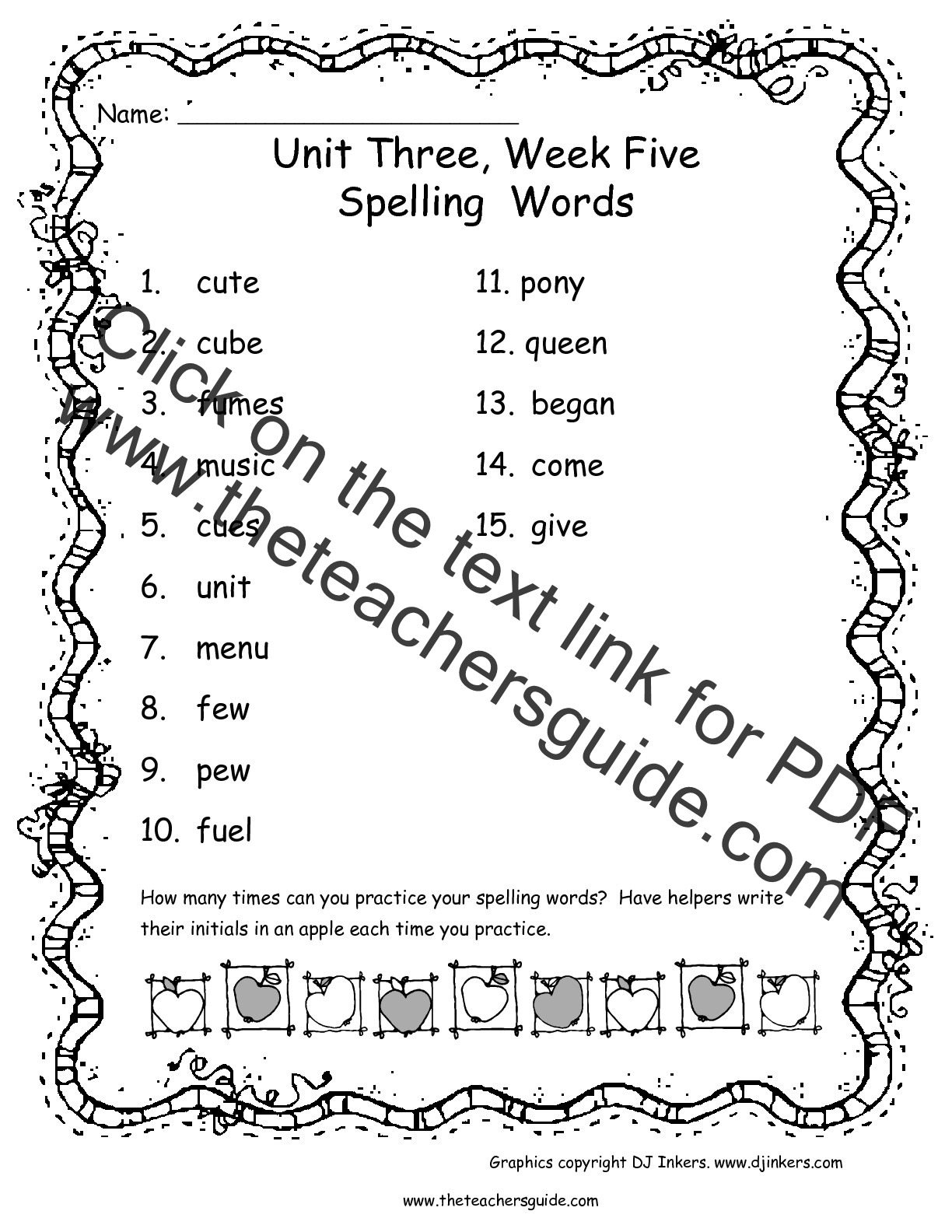 Uncategorized 2nd Grade Spelling Worksheets worksheet second grade spelling words wosenly free wonders unit three week five printouts words