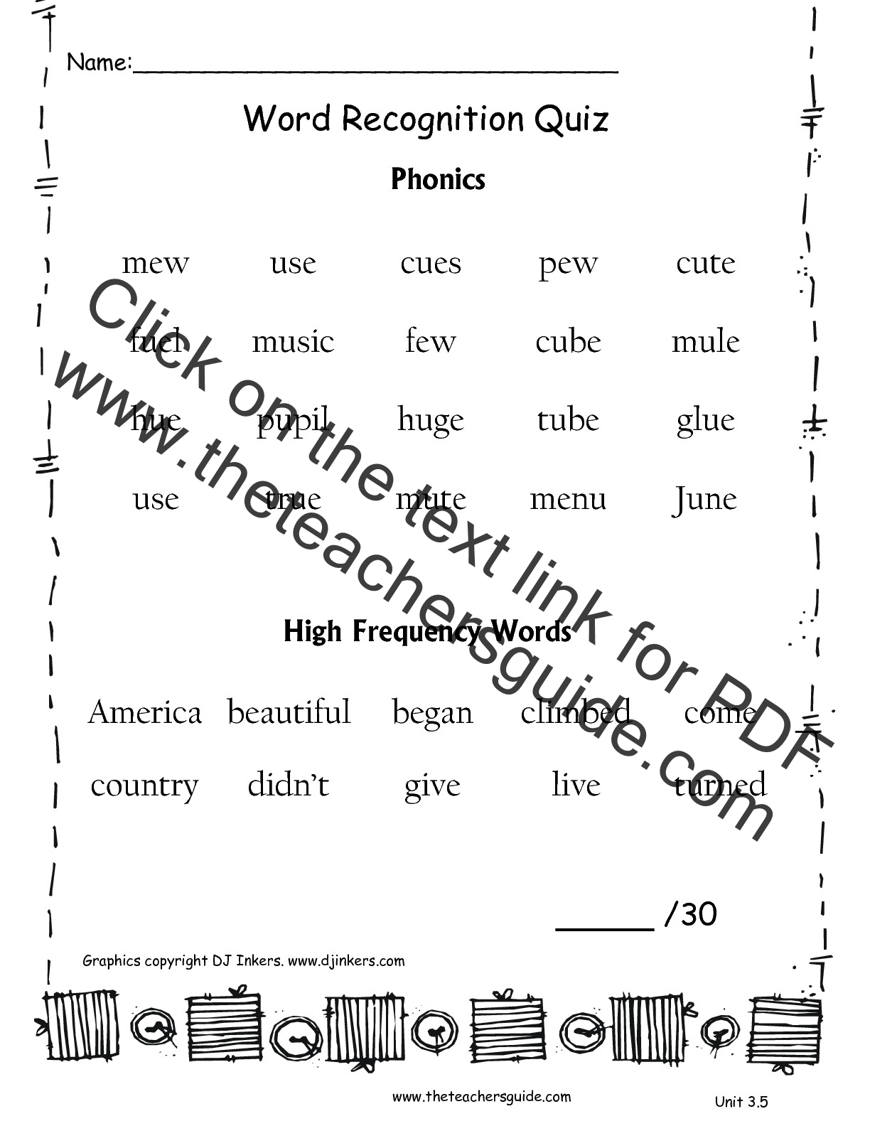 Wonders Second Grade Unit Three Week Five Printouts – Second Grade Phonics Worksheets