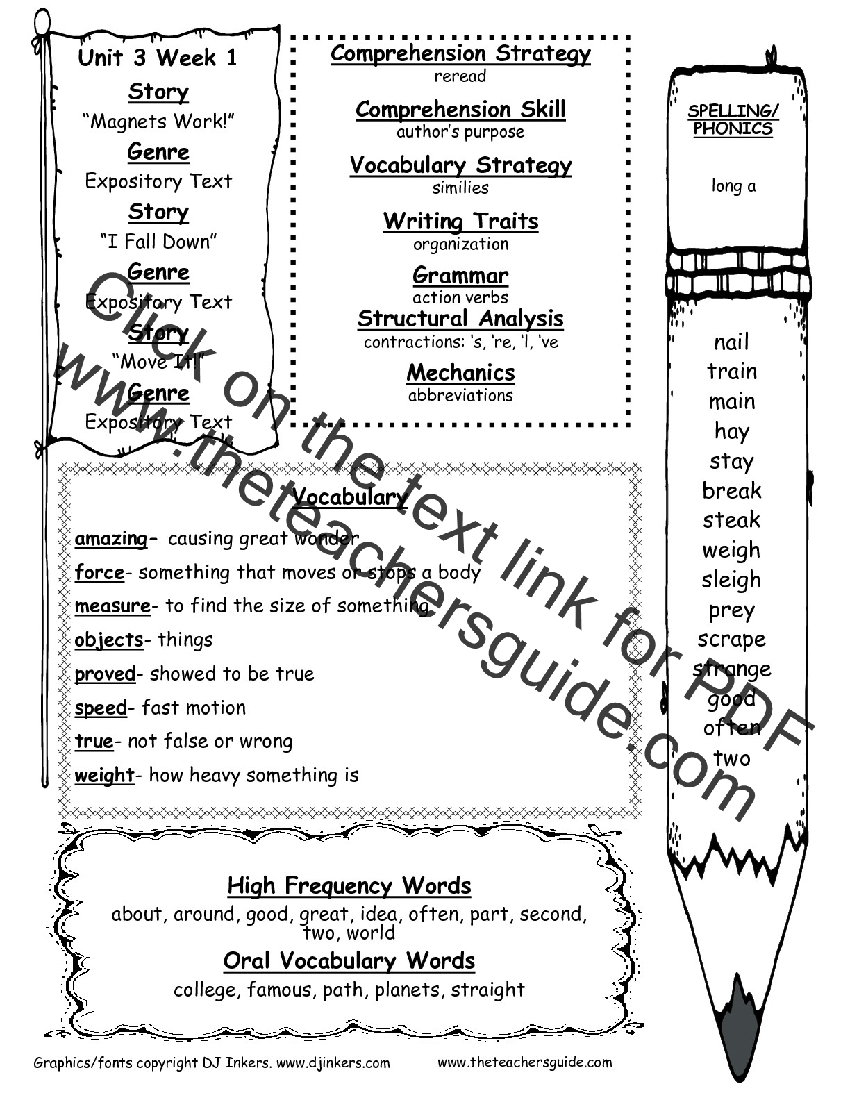 Worksheet Reading Practice For 2nd Graders mcgraw hill wonders second grade resources and printouts unit three week one weekly outline