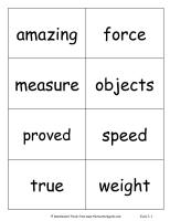 wonders second grade unit three week one vocabulary cards