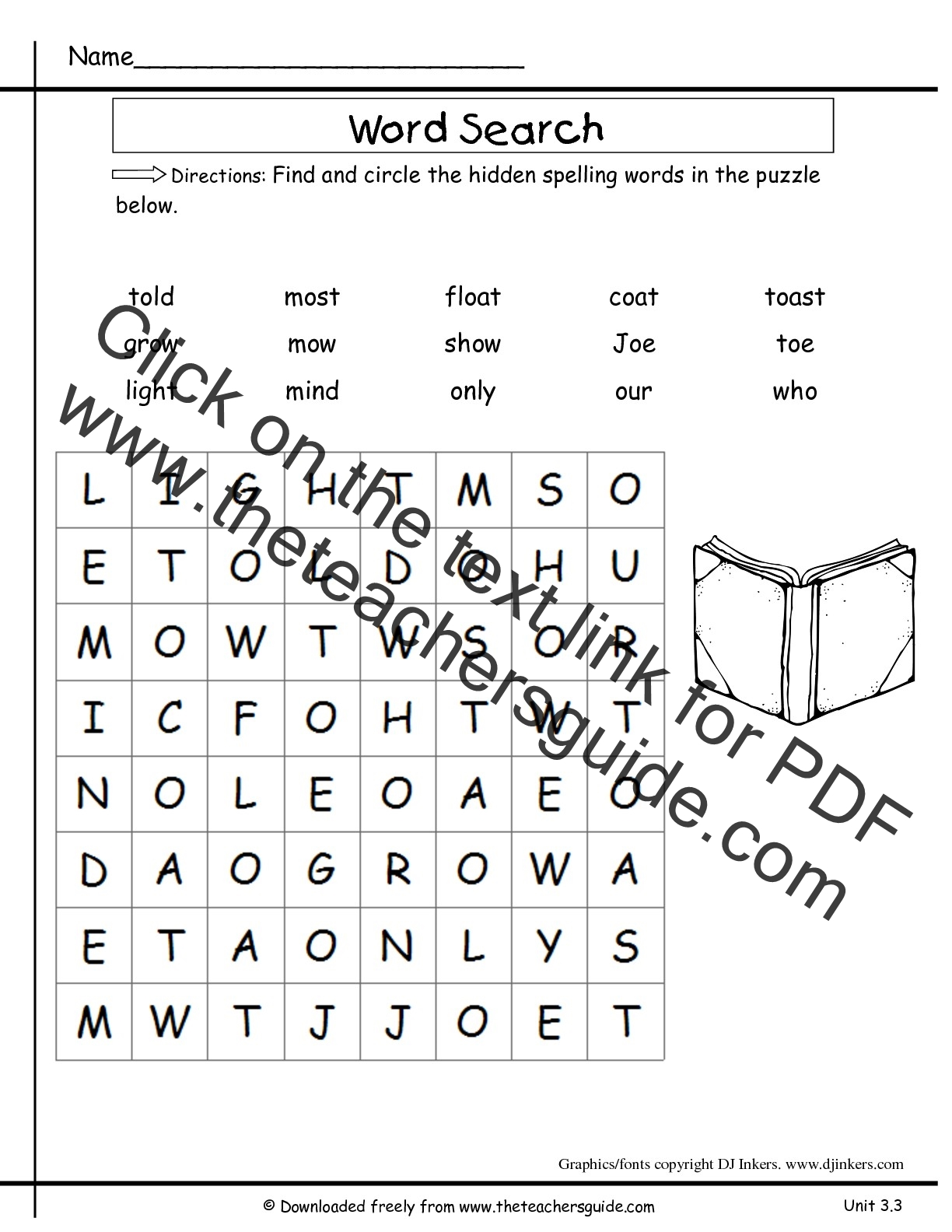 Worksheets Free Second Grade Phonics Worksheets wonders second grade unit three week printouts spelling wordsearch