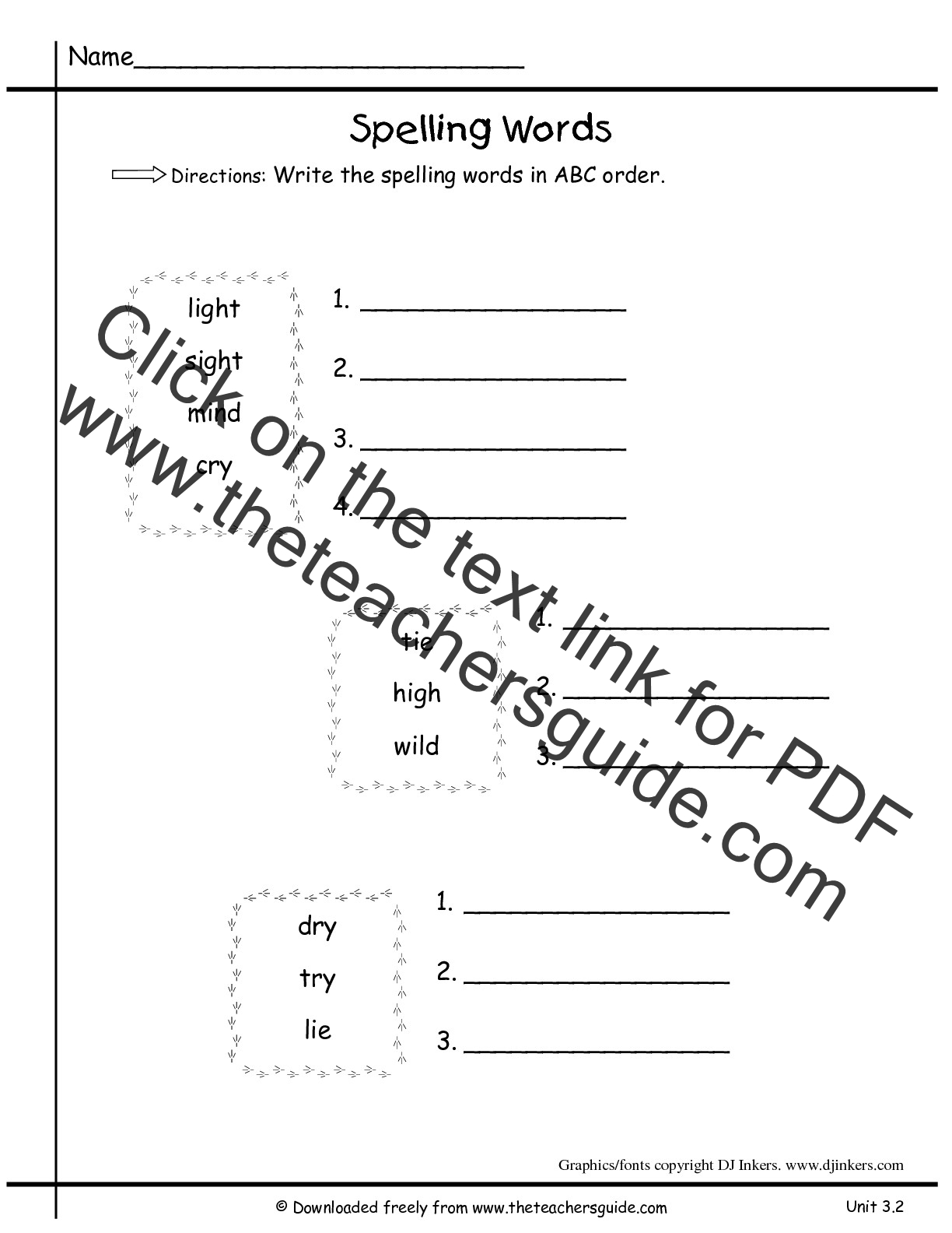 Worksheet Verbs Grade 3 wonders second grade unit three week two printouts 3 abc order