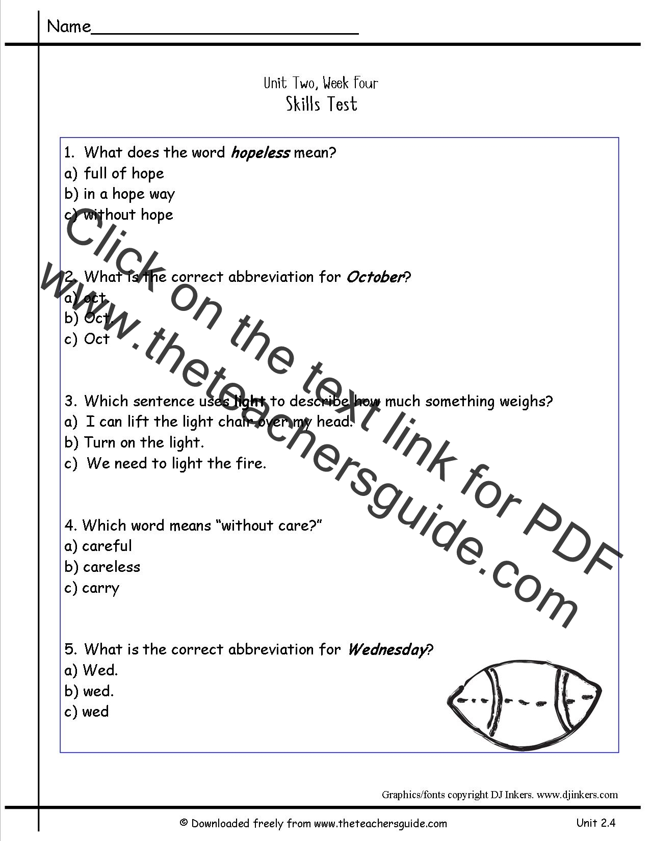 math worksheet : wonders second grade unit two week four printouts : Worksheets On Multiple Meaning Words